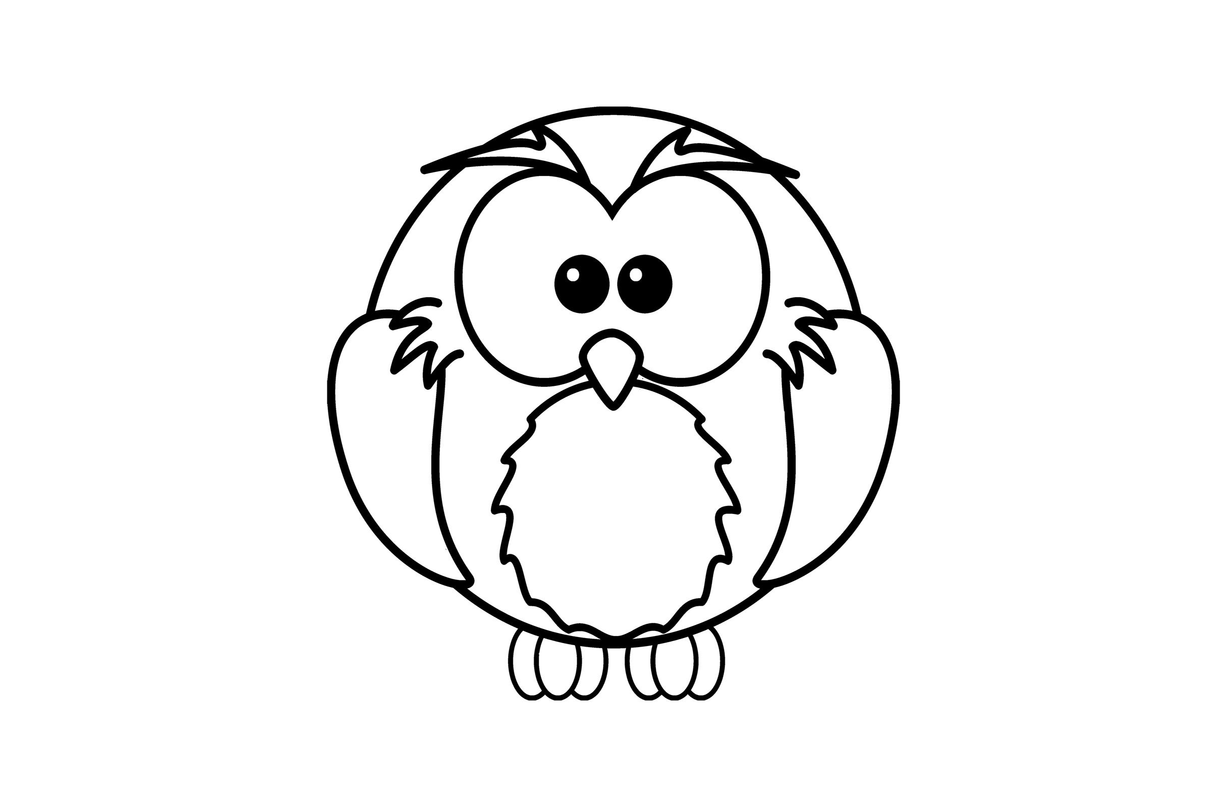 Eule Malvorlage - kinderbilderdownload kinderbilder