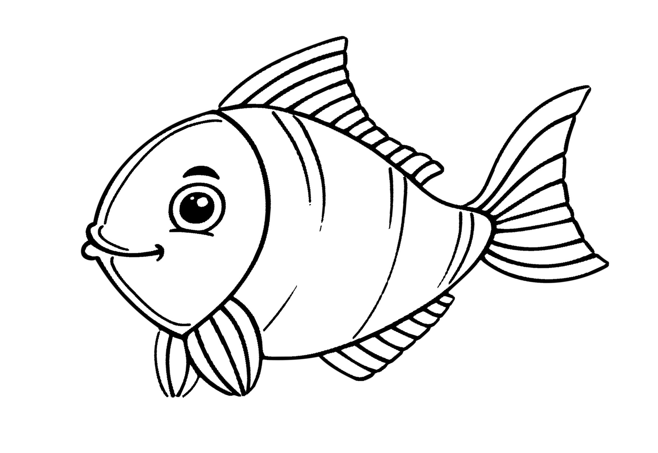 Ausmalbilder Meerestiere - kinderbilderdownload