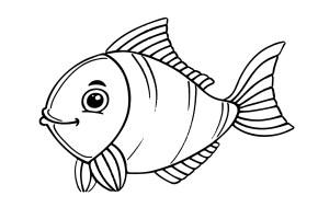 Ausmalbild Fische   kinderbilder.download   kinderbilder ...