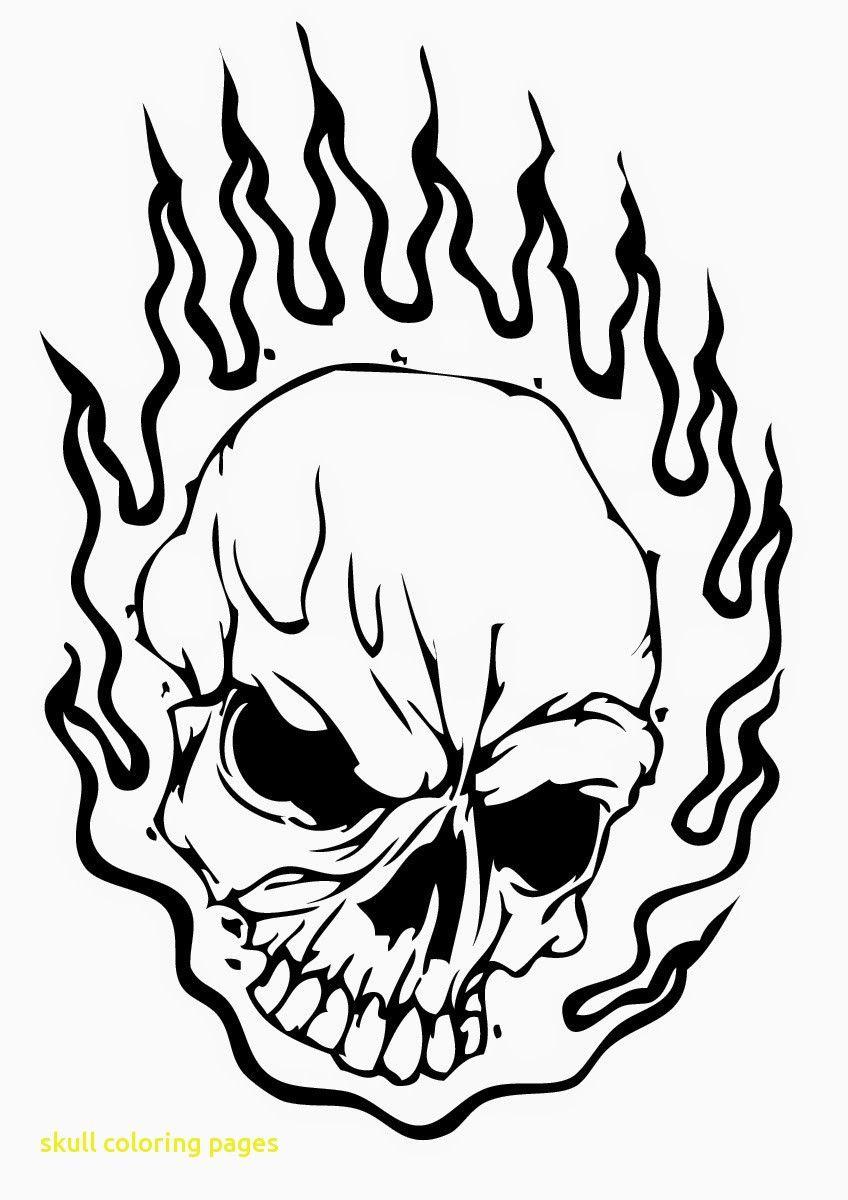 Malvorlage Totenkopf - kinderbilderdownload