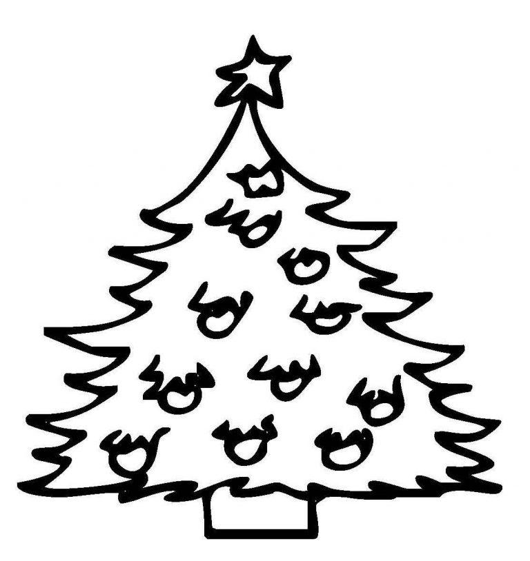 Kostenlose Ausmalbilder Und Malvorlagen Weihnachtsbäume