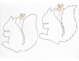 Eichhörnchen Malvorlage   kinderbilder.download ...