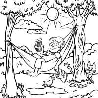 Ausmalbild Ferien   kinderbilder.download   kinderbilder ...