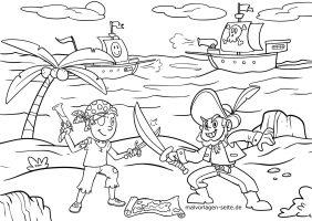 Malvorlagen Piraten   kinderbilder.download   kinderbilder ...