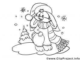 Winterlandschaft Malvorlage   kinderbilder.download ...