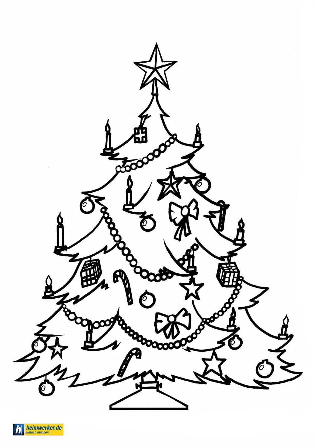 Weihnachtsbilder Zum Ausdrucken Malvorlagen