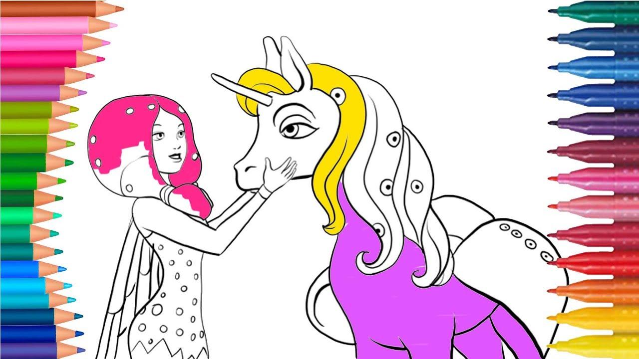 Mia Und Ich - Mia And Me Deutsch Ausmalbilder Färbung