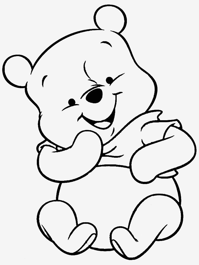 Winnie Pooh Und Seine Freunde Malvorlagen - kinderbilder