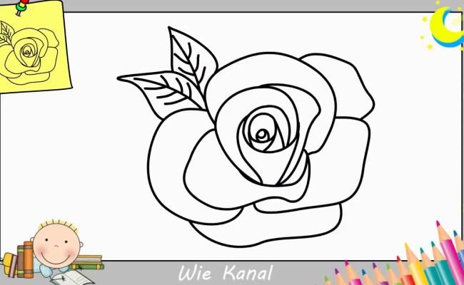 Rose Zeichnen Lernen Einfach Schritt Fur Schritt Fur Anfanger Kinder 1 Dubai Khalifa Leichte aber schoene bilder zum nachmalen. rose zeichnen lernen einfach schritt
