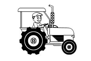 Malvorlage Traktor   kinderbilder.download   kinderbilder ...