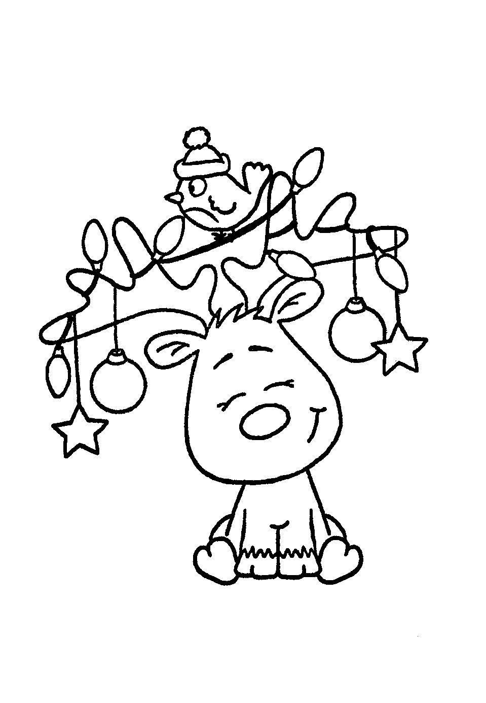 Elch Malvorlage - kinderbilderdownload kinderbilder