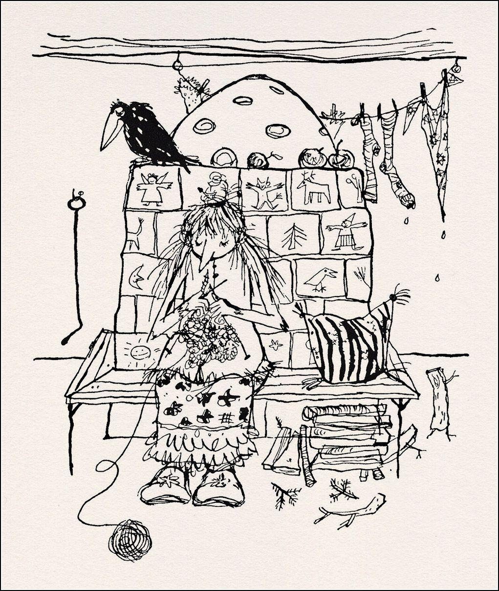 Die Kleine Hexe Ausmalbilder - kinderbilderdownload