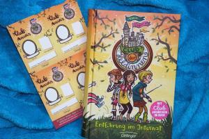 Entführung im Internat (Band 1) der Kinderbuchreihe Club der Heldinnen von Nina Wegener