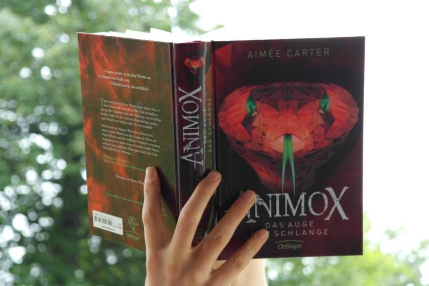 Das Auge der Schlange ist der 2. Band der Animox-Serie von Aimée Carter.