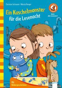 Bücherbär von Arena Kinderbuchverlag, Mein ABC Lesestart, Ein Kuschelmonster für die Lesenacht