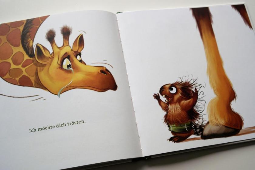 Ich bin für dich da! ein Kinderbuch über Glück und Freundschaft
