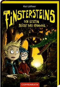 Die Finstersteins Band 3 - Den Letzten beißt das Krokodil von Kai Lüftner und Frederic Betrand