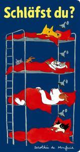 Gute Nacht Geschichte für Kinder ab 3 Jahren mit hunden, Schläfst du? von Dorothée de Monfreid, Reprodukt Verlag