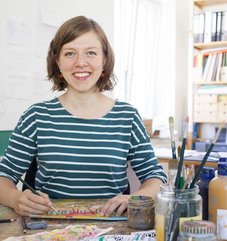 Kinderbuchillustratorin Constanze von Kitzing
