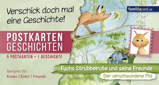 Postkartengeschichte Der verschwundene Pilz