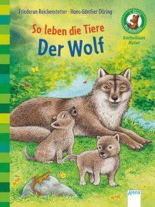 Erstlesebuch über Wölfe