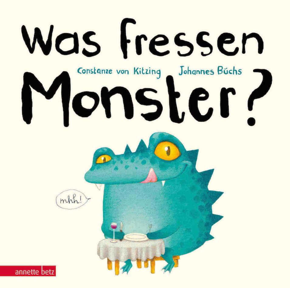 textloses Bilderbuch Monster