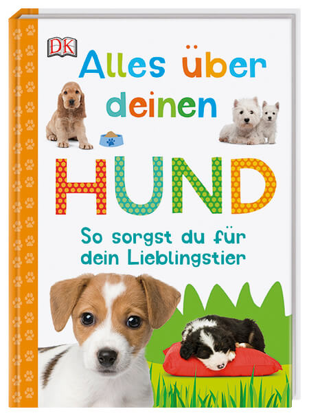 Hundebuch für Kinder, Kinderbuch über Hunde