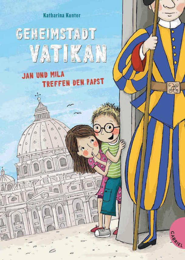 Geheimstadt Vatikan – Jan und Mila treffen den Pabst