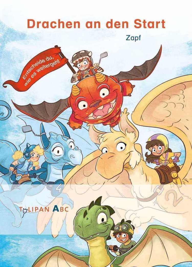 Drachen an den Start – Spielbuch für Erstleser
