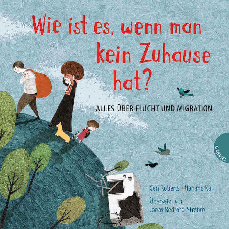 Von der Flucht und Reise aus der Heimat bis hin zur Beantragung von Asyl - ein Bilderbuch, das mehr Details als die meisten Kinderbücher über Flucht, Migration und Asyl verrät
