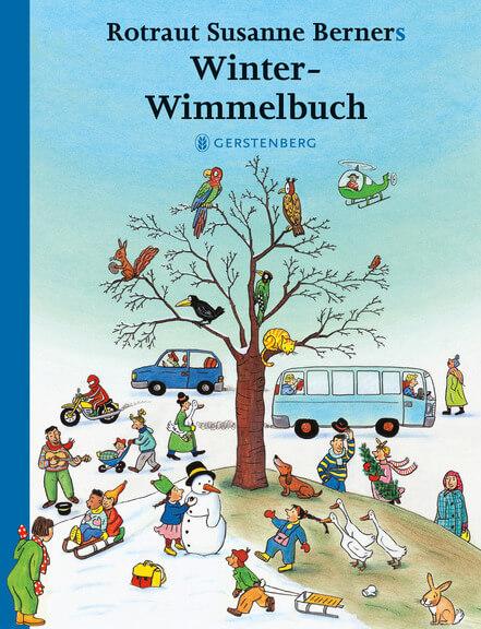 Winter-Wimmelbuch von Rotraut Susanne Werner