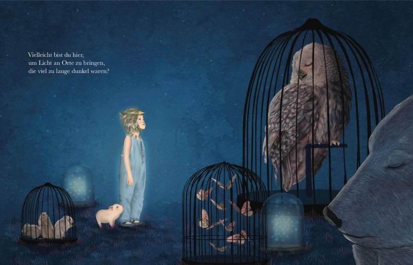 Innenseite des Bilderbuches Vielleicht von Kobi Yamada und Gabriella Barouch