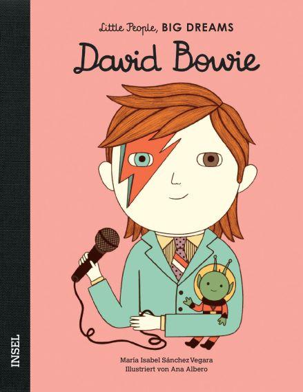 Little People BIG DREAMS Dawid Bowie, Biografie für Kinder