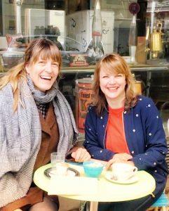 Hella Brunke und Susanne Straßer