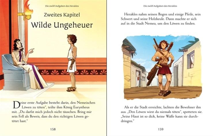 Bunt Erzählte Klassiker Griechische Sagen Kinderbuch