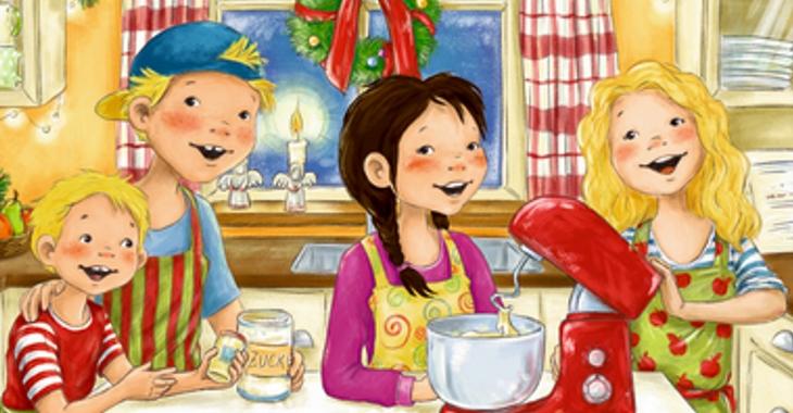 Kinder Weihnachtskekse.Abenteuer Im Möwenweg Wir Backen Weihnachtskekse Büchersterne