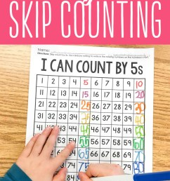 The Secret to Skip Counting in Kindergarten! [ 1165 x 800 Pixel ]