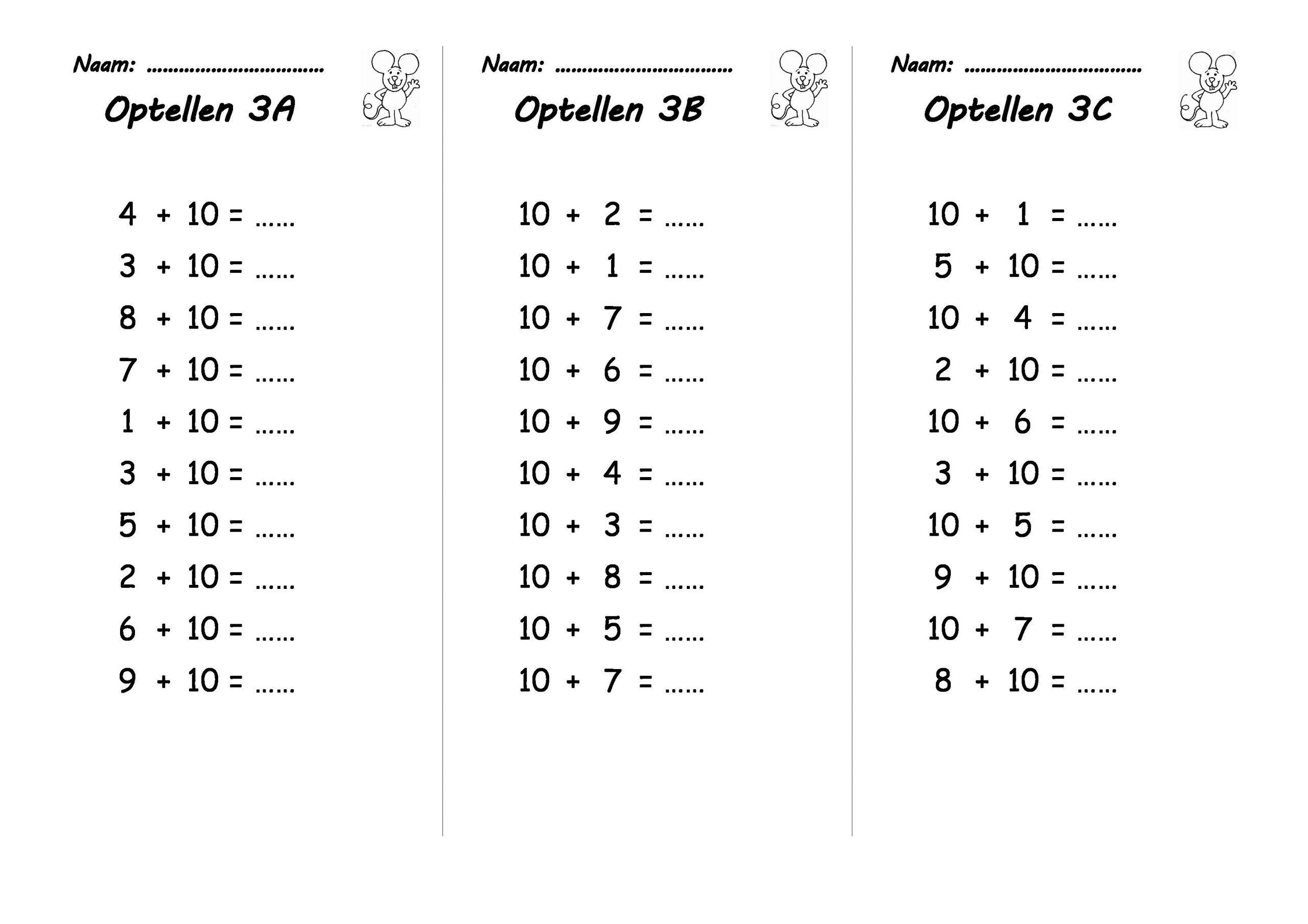Werkbladen Voor Vermenigvuldiging Voor Het 4e Leerjaar 6