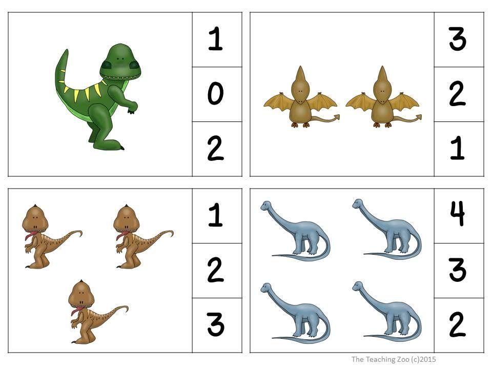 Voorschoolse Werkbladen Dinosaurussen 2