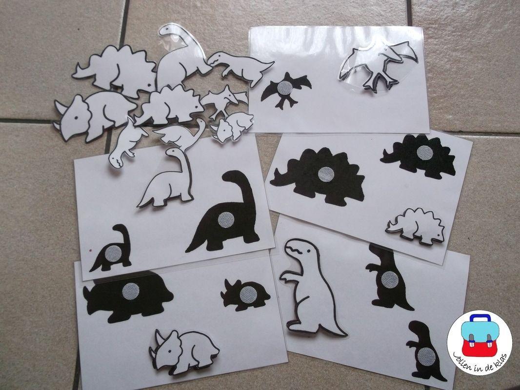 Voorschoolse Werkbladen Dinosaurussen 5