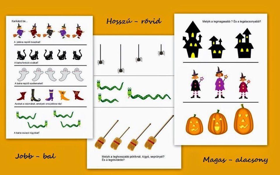 Voorschoolse Werkbladen Halloween 1