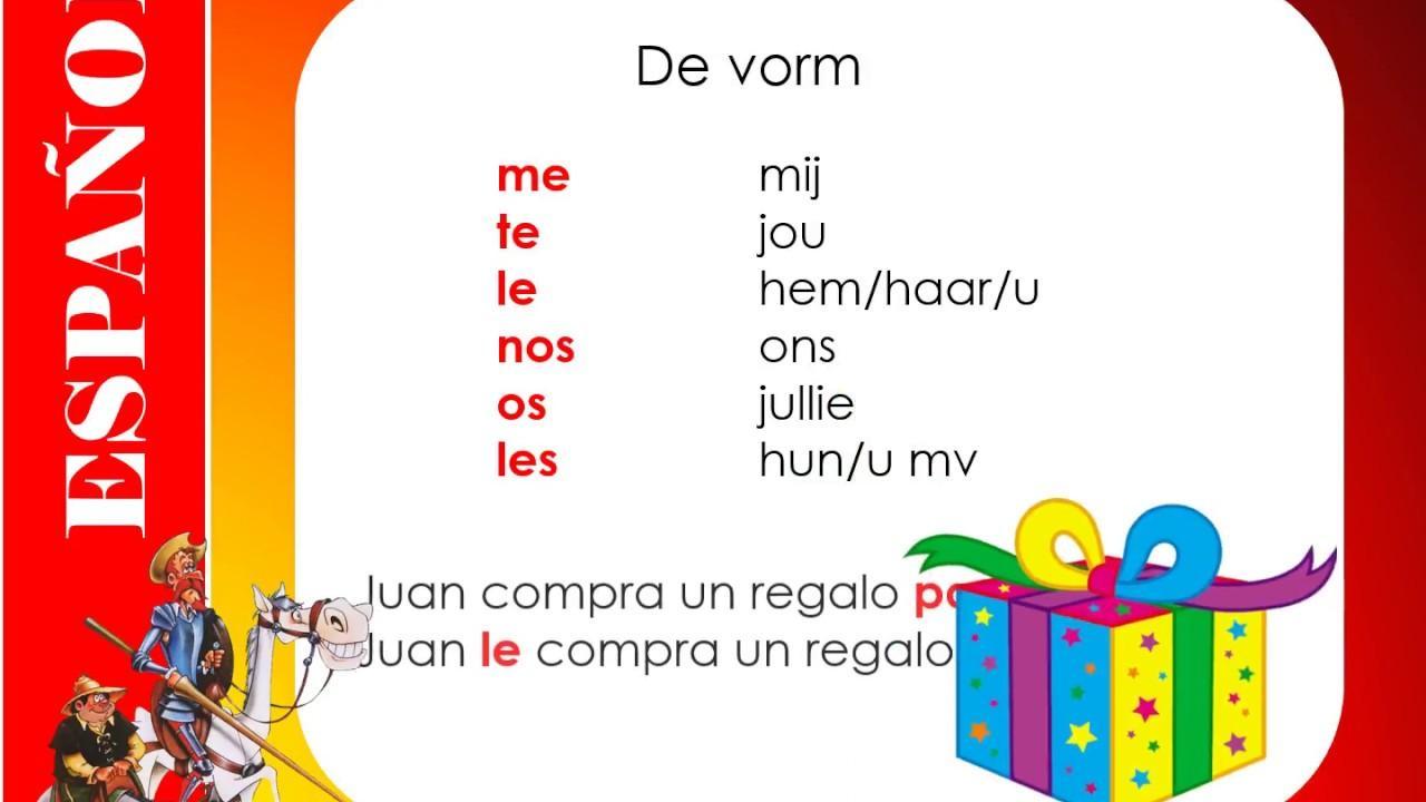 Voorschoolse Werkbladen In Het Spaans 1