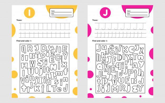 Voorschoolse Werkbladen In Kleur 2