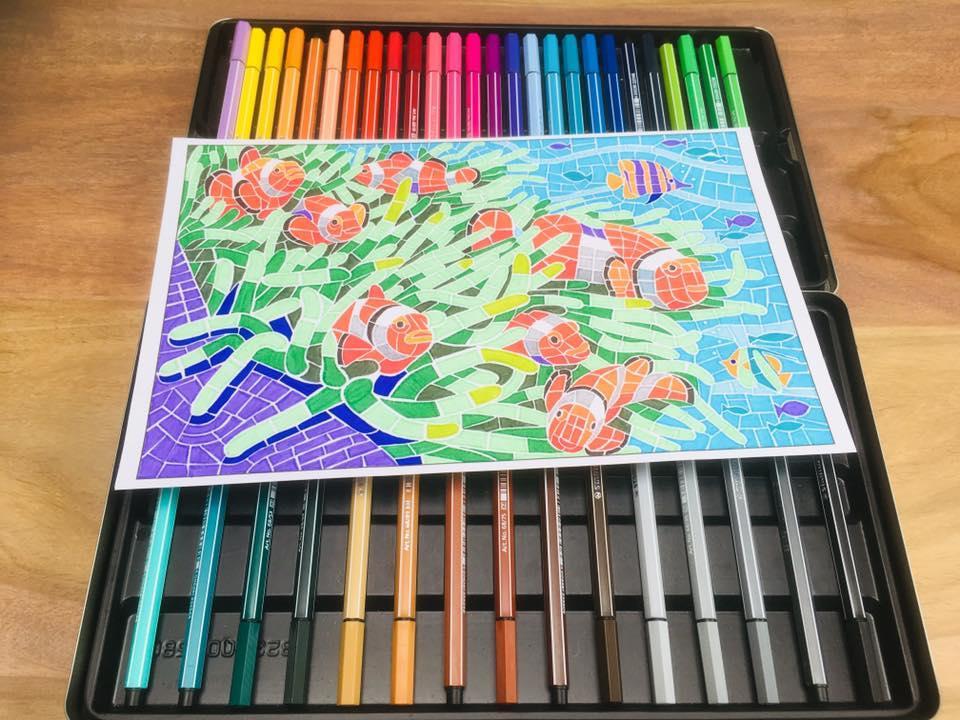 Voorschoolse Werkbladen Kleuren Op Nummer 6