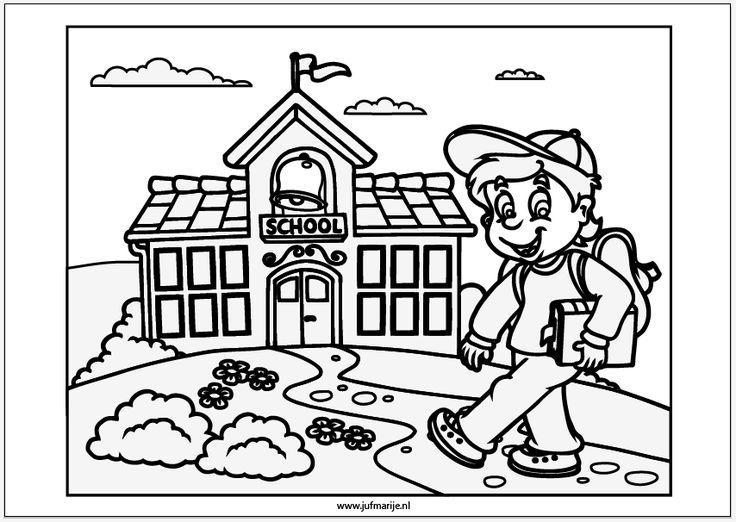 Voorschoolse Werkbladen Terug Naar School 3