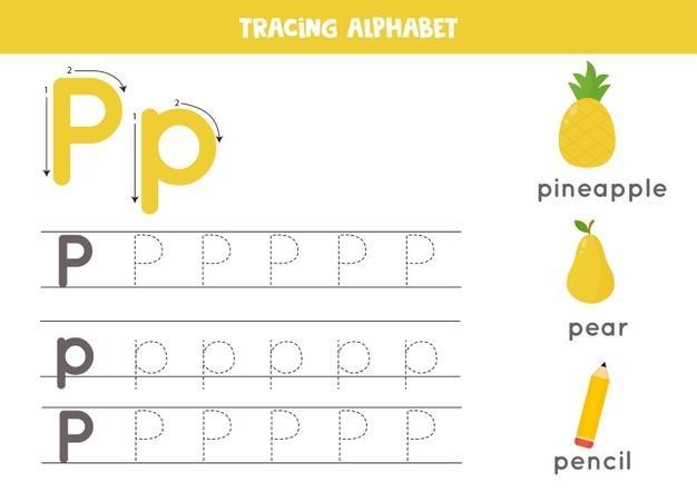 Voorschoolse Alfabet X Werkblad 1