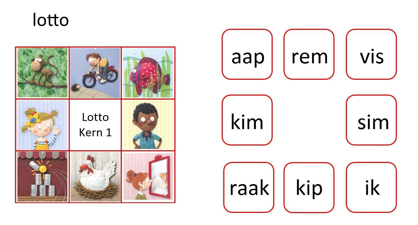 Voorschoolse Werkbladen Lezen 1
