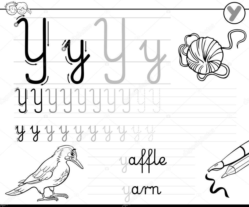 Voorschoolse Werkbladen Met Letter A 4