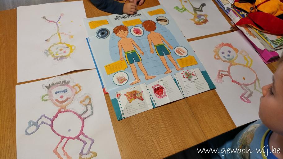 Voorschoolse Werkbladen Mijn Lichaam 9