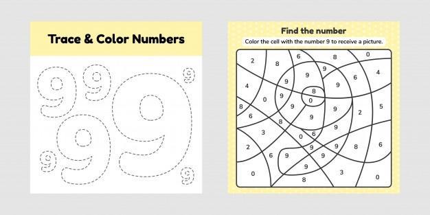Voorschoolse Werkbladen Nummers 1-20 1